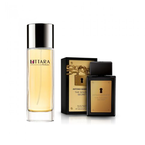 parfum isi ulang the golden secret antonio banderas